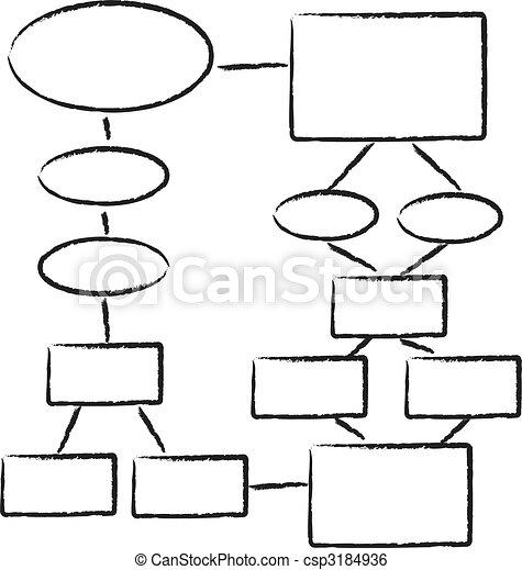 diagramme, organigramme - csp3184936