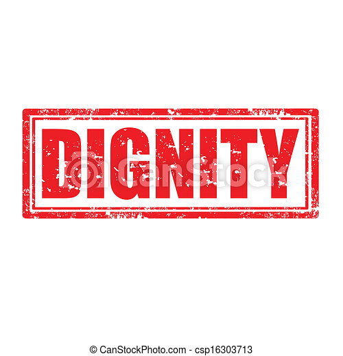 dignity-stamp - csp16303713