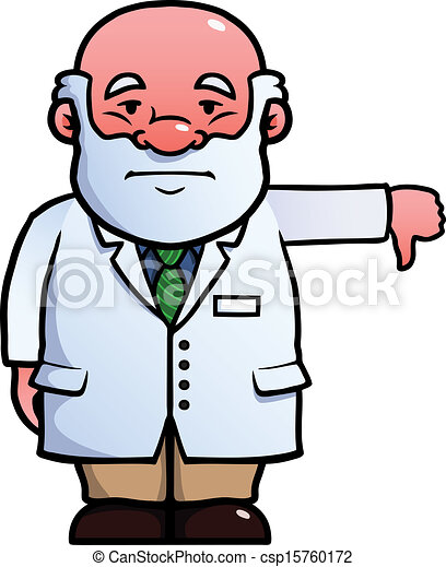 donner, bas, scientifique, pouces - csp15760172