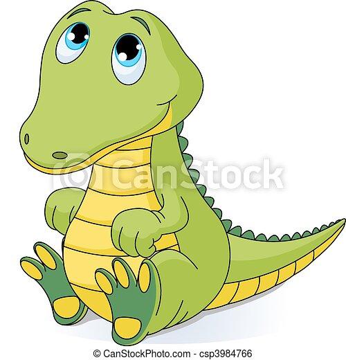 dorlotez crocodile - csp3984766