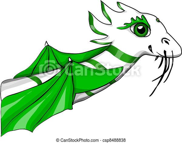 dragon chinois - csp8488838