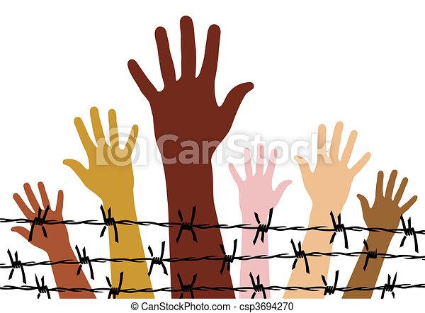 droits homme - csp3694270