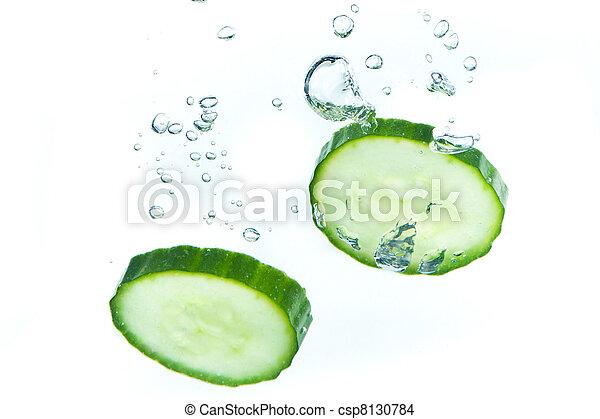 eau, concombre - csp8130784