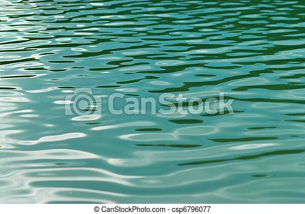 eau, surface. - csp6796077