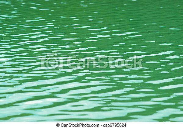 eau, surface. - csp6795624