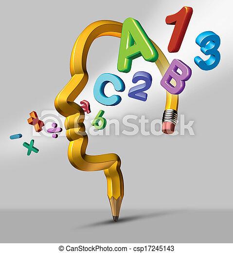 education, apprentissage - csp17245143
