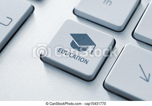 education, ligne - csp15431770