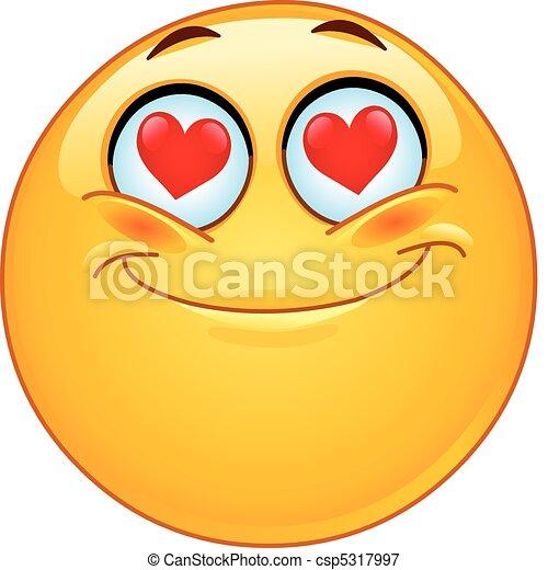 emoticon, amour - csp5317997