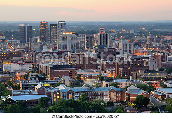 en ville, alabama, birmingham - csp10020721