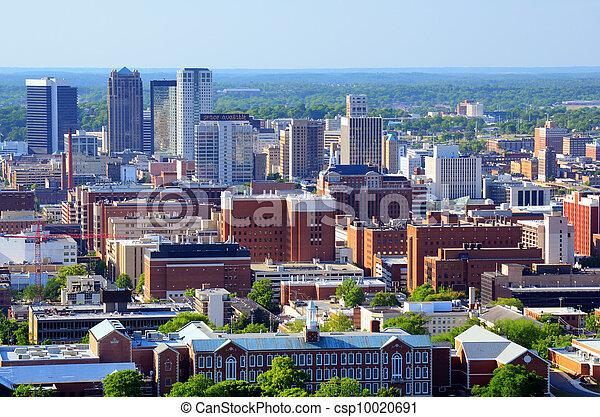 en ville, alabama, birmingham - csp10020691