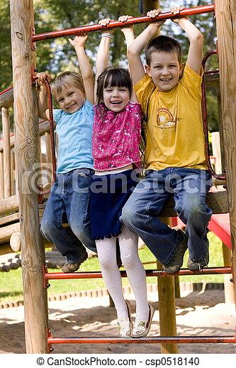 enfants, heureux - csp0518140