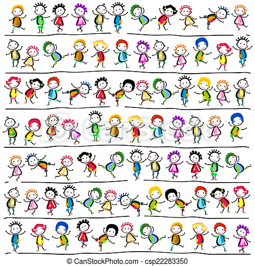 enfants, heureux - csp22283350