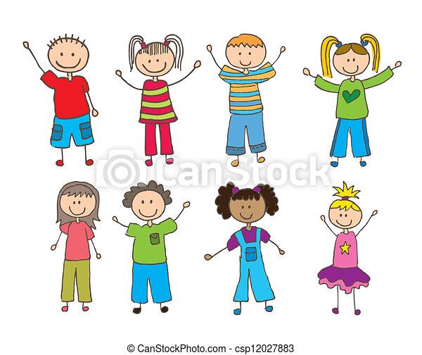 enfants - csp12027883