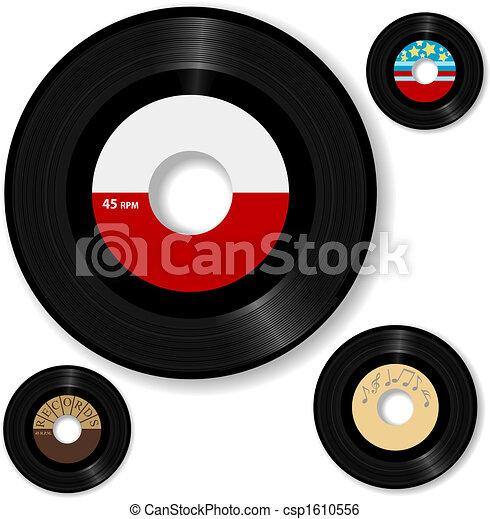 enregistrement, 45 tpmrificatio, retro - csp1610556