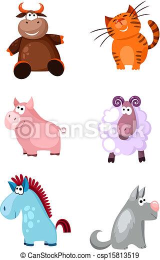 ensemble, animaux - csp15813519