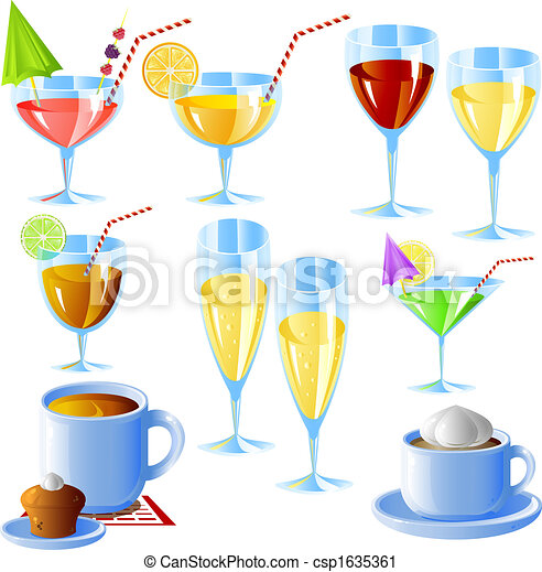ensemble, boissons - csp1635361