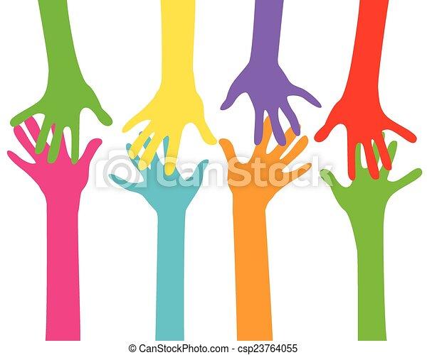 ensemble, mains - csp23764055