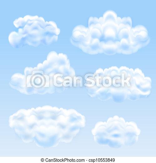 ensemble, nuages - csp10553849