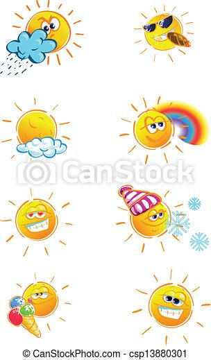ensemble, soleil - csp13880301