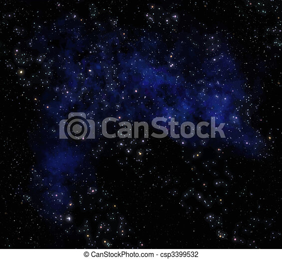 espace extérieur - csp3399532