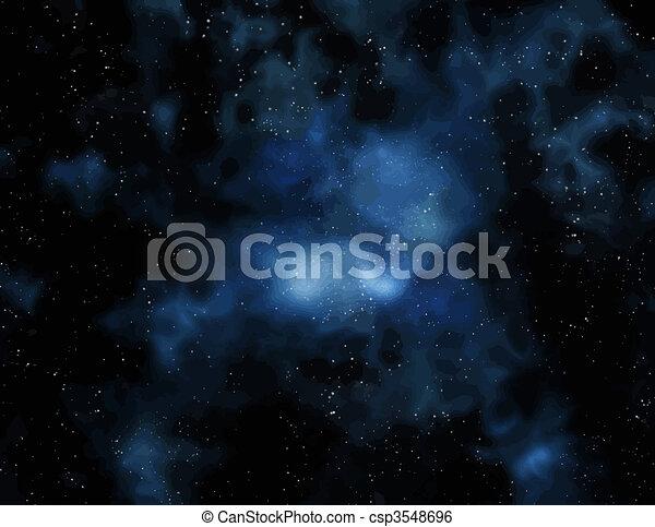espace, profond - csp3548696