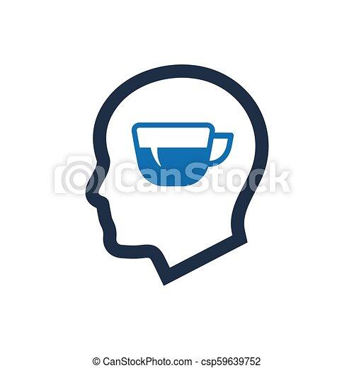 esprit, rafraîchissement, icône - csp59639752