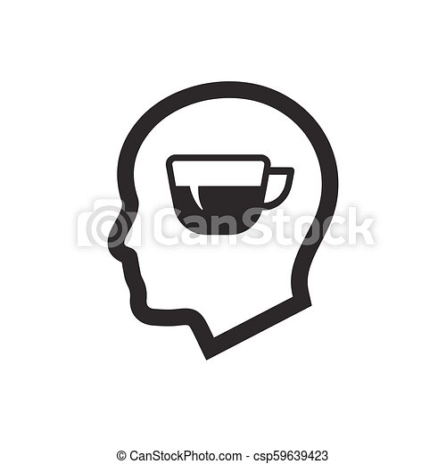 esprit, rafraîchissement, icône - csp59639423