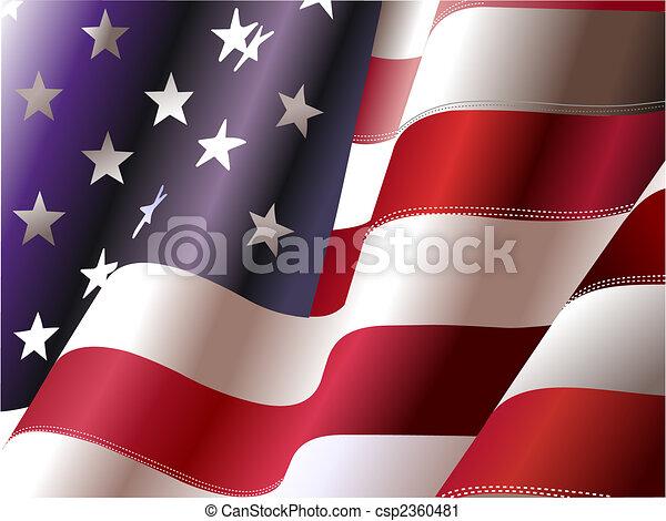 etats, uni, –, affiche, concepteurs, indépendance, 4ème, jour, america., juillet, graphique - csp2360481