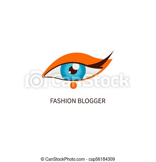 examiner maquillage, mode, blogger - csp56184309
