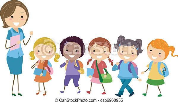 exclusif, eduquer filles - csp6960955