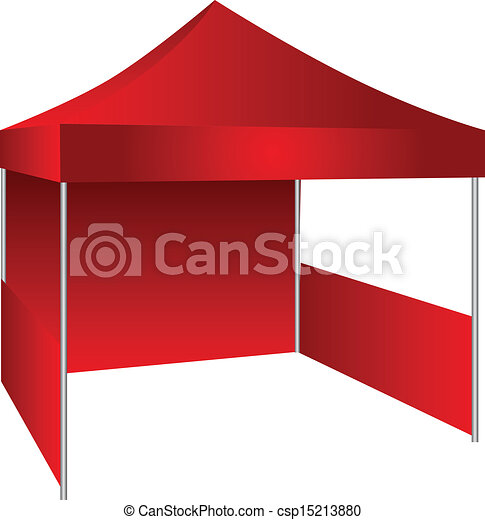 exposition, tente - csp15213880