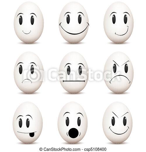 expressions, divers, facial - csp5108400