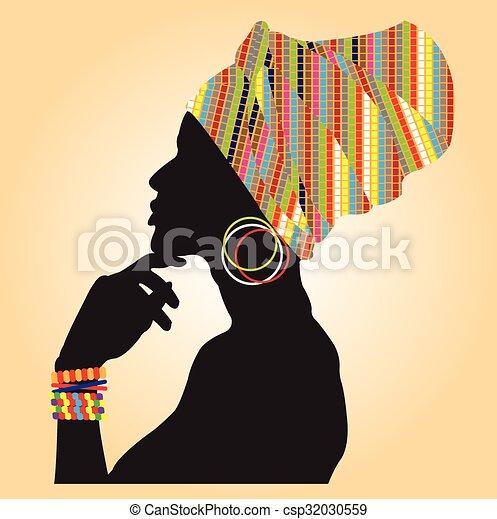 fashion., africaine - csp32030559