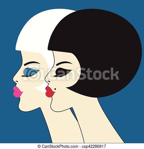 profils des femmes)