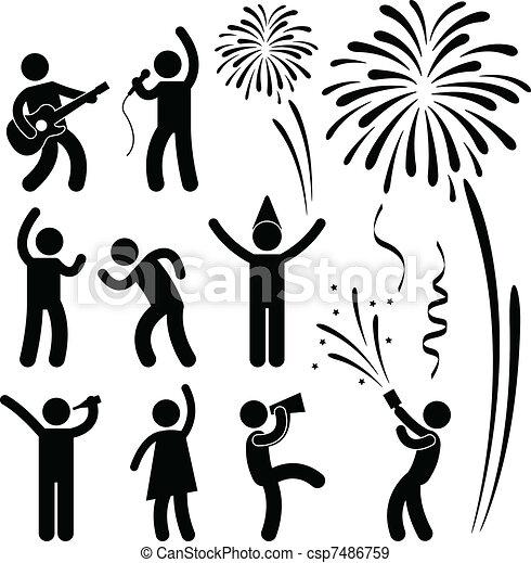festival, fête, événement, célébration - csp7486759