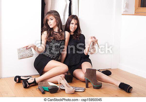 filles, mode - csp15950045