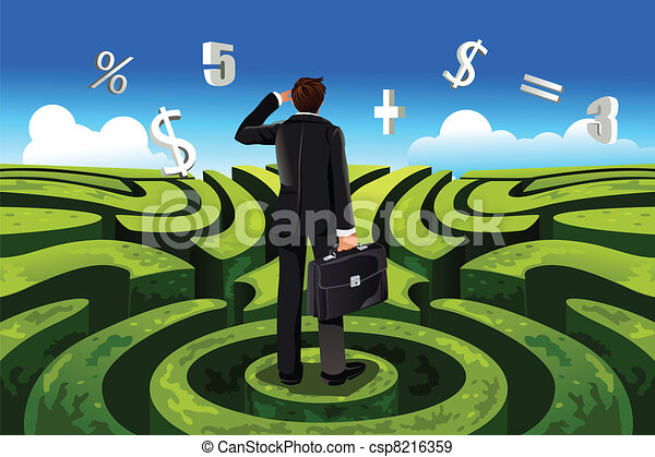 finance, business - csp8216359