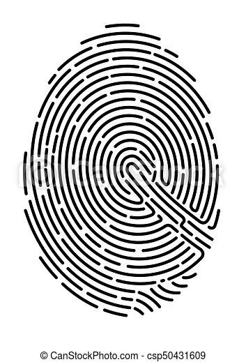 finger-print - csp50431609