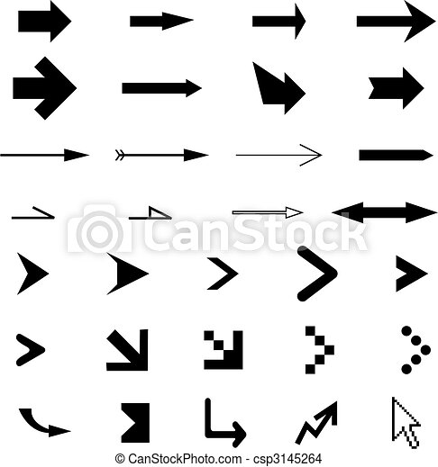 flèches, collection - csp3145264