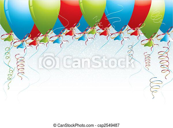 fond, célébration - csp2549487