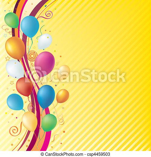 fond, célébration - csp4459503