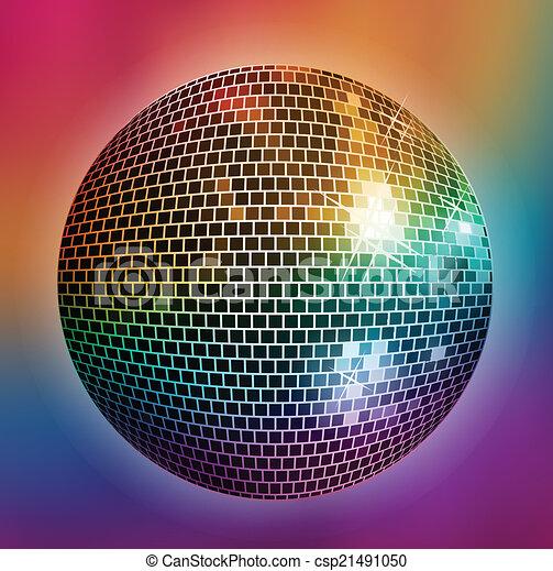 fond, disco - csp21491050
