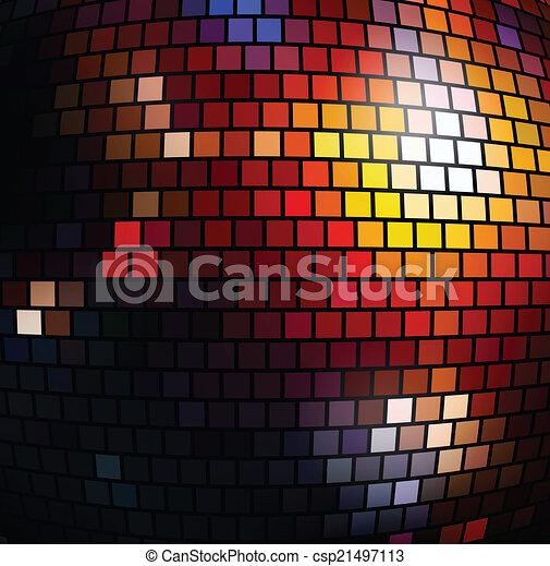 fond, disco - csp21497113