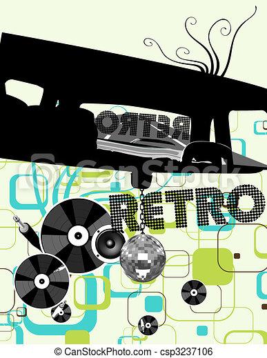 fond, disco - csp3237106