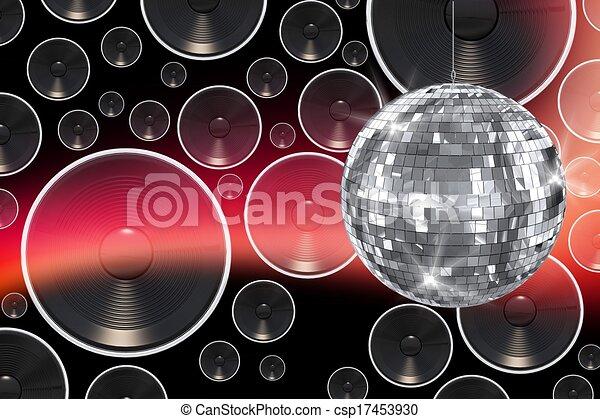 fond, disco - csp17453930