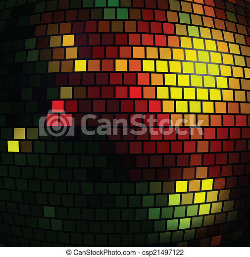 fond, disco - csp21497122