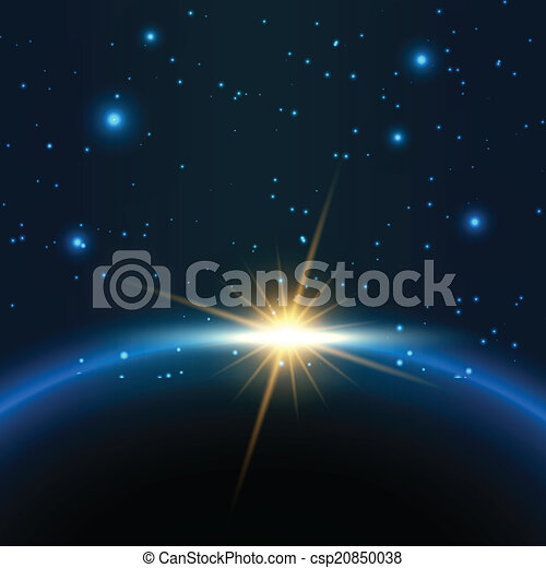 fond, espace - csp20850038