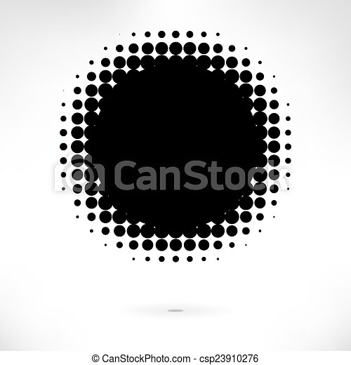 fond, halftone - csp23910276
