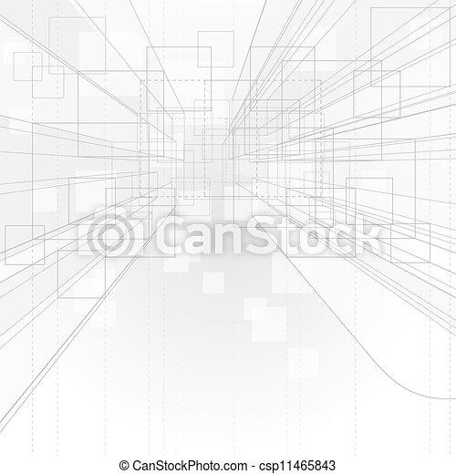 fond, perspective, contour - csp11465843