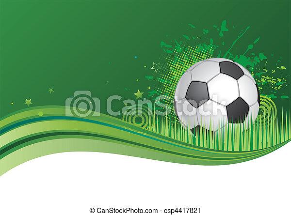 football, fond - csp4417821